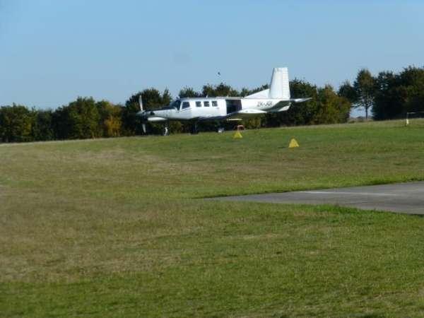 Springer-Flugzeug